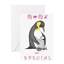 Cute Manatee mermaid designs Greeting Card