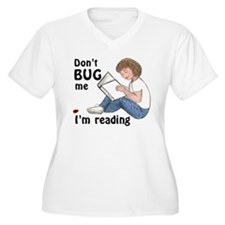 Don't Bug Me/I'm Reading T-Shirt