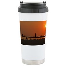 Cute Pier Travel Mug