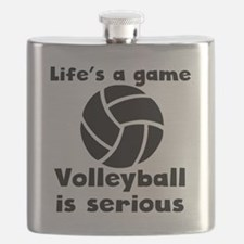 Volleyball Is Serious Flask