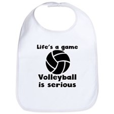 Volleyball Is Serious Bib