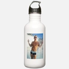 Sexy Guy Swimmer Water Bottle