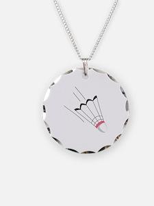 Badminton Birdie Necklace