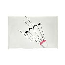 Badminton Birdie Magnets