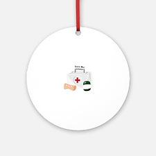 Save Me Ornament (Round)