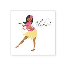 Aloha Girl Sticker