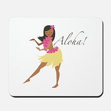 Aloha Girl Mousepad