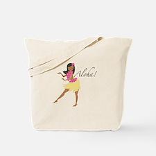 Aloha Girl Tote Bag