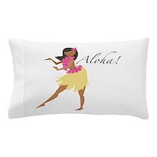 Aloha Girl Pillow Case