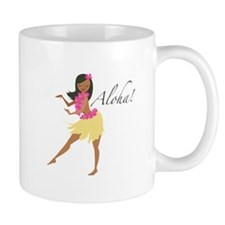 Aloha Girl Mugs