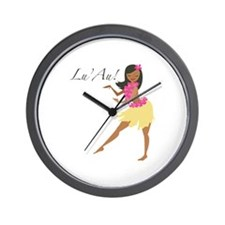 Lu Au Girl Wall Clock