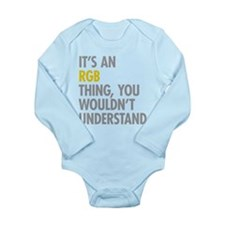 Its An RGB Thing Long Sleeve Infant Bodysuit
