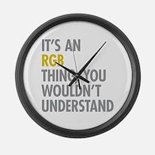 Its An RGB Thing Large Wall Clock