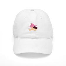 Cupcakes Baseball Baseball Cap