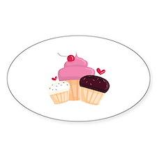 Cupcakes Decal