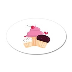 Cupcakes Wall Decal