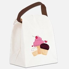 Cupcakes Canvas Lunch Bag
