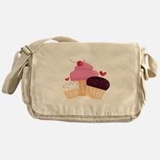 Cupcakes Messenger Bag