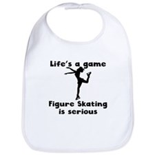 Figure Skating Is Serious Bib