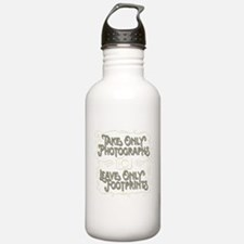 Take Only Photographs Water Bottle