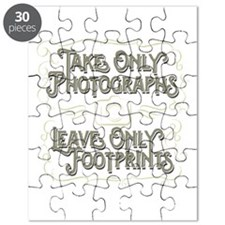 Take Only Photographs Puzzle