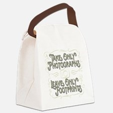 Take Only Photographs Canvas Lunch Bag