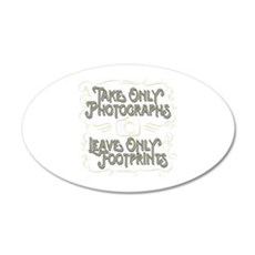Take Only Photographs Wall Decal