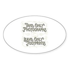 Take Only Photographs Decal