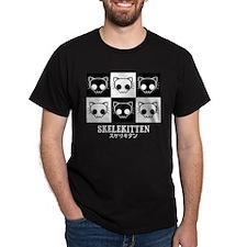 Skelekitten Tile T-Shirt
