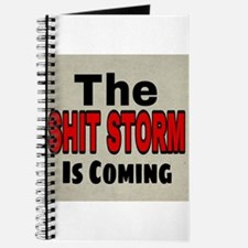 The Shit Storm Is Coming Journal