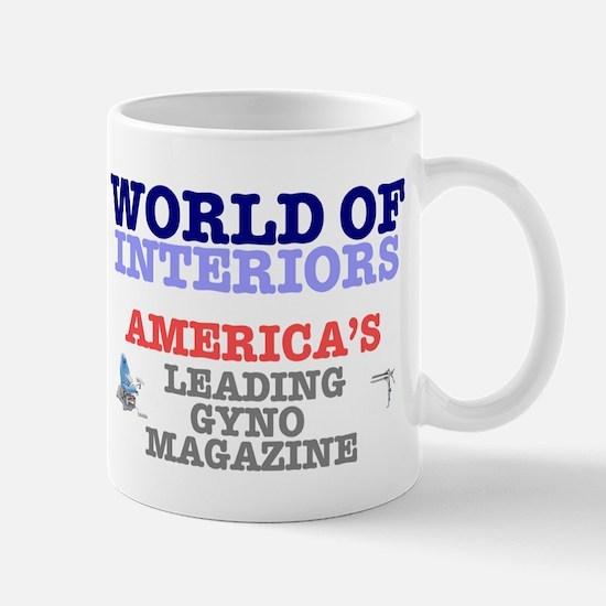 WORLD OF INTERIORS - AMERICAS LEADING GYNO MA Mugs