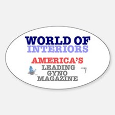 WORLD OF INTERIORS - AMERICAS LEADING Decal