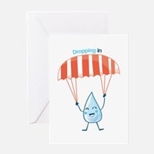 Dropping In Greeting Cards