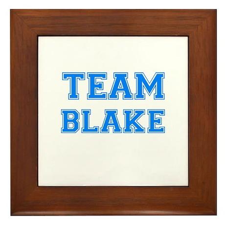 TEAM BLAKE Framed Tile