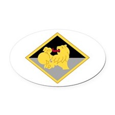 266th Finance.png Oval Car Magnet