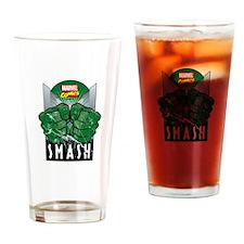 Hulk Smash All Drinking Glass