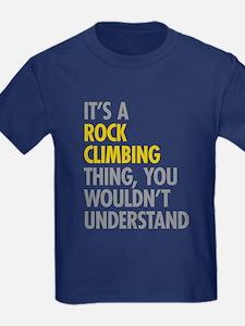 Rock Climbing Thing T