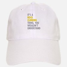 Rock Climbing Thing Baseball Baseball Cap