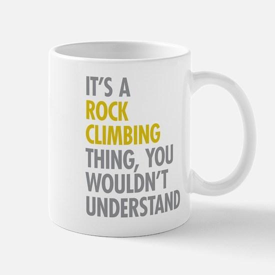 Rock Climbing Thing Mug
