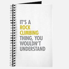 Rock Climbing Thing Journal