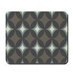 Retro 60's Diamond Geometric Mousepad