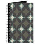 Retro 60's Diamond Geometric Journal