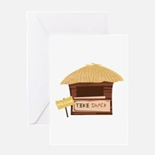 Tiki Shack Welcome Greeting Cards