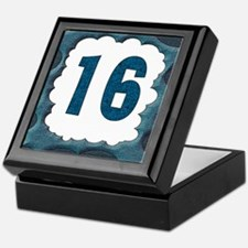 16th Birthday Gifts Keepsake Box