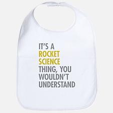 Rocket Science Thing Bib