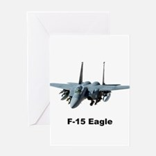 f-15 Eagle S Greeting Cards
