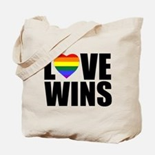 LOVE WINS! Tote Bag