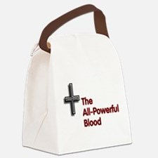 All-Powerful Blood Cross Canvas Lunch Bag