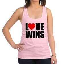 LOVE WINS! Racerback Tank Top