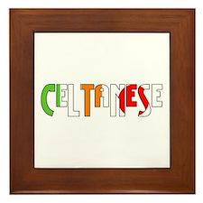 Celtanese Framed Tile
